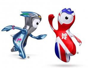 летняя Олимпиада 2012 - символы Венлок и Мандевиль
